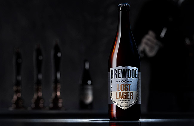 ToughLittleGraphic_BrewDog_LostLager_Advertising
